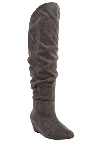 extra wide boots for women - 8