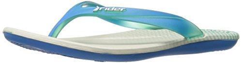 Rider Women's Smoothie III Sandal, Blue/Grey, 9 US/9 M US Bon Bon 3 Sandal