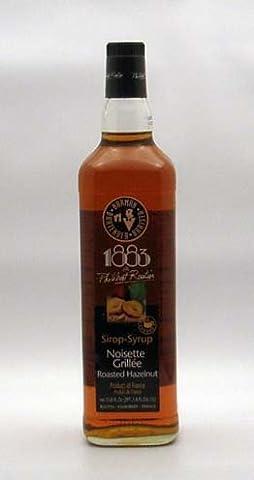 1883 Routin Roasted Hazelnut Syrup, 33.814 Ounce (Hazelnut Roasted)