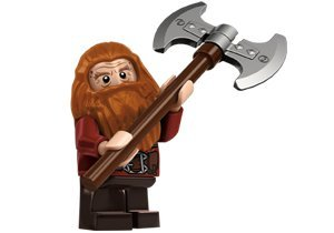 Lego Hobbit Gloin the Dwarf Minifigure