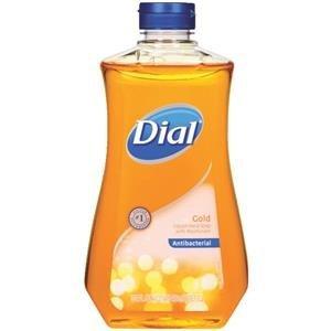 Dial Gold Antibacterial Liquid Hand Soap, 32 Oz (Gold Soap Refill)