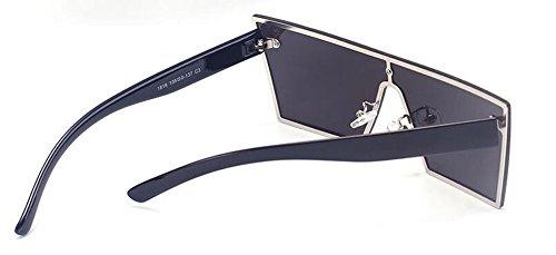 du soleil style Blanc retro polarisées inspirées vintage rond lunettes métallique cercle de en Lennon Mercure AIwSFF