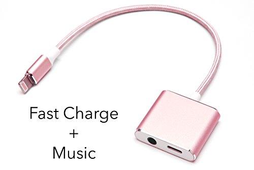 iPhone Lightning Charge Headphone Adapter product image