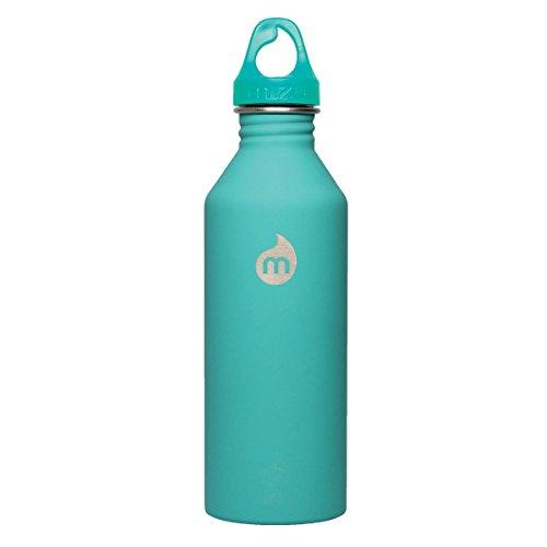 MIZU M8 Water Bottle Soft Touch Mint, 800ml by Mizu