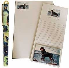 Rottweiler Stationery Gift Set (Rottweiler Notepad)