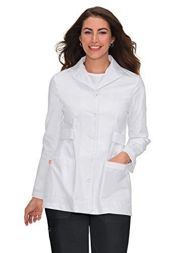 Orange Standard G3400 Women's Hampton Lab Coat (White, Medium) ()