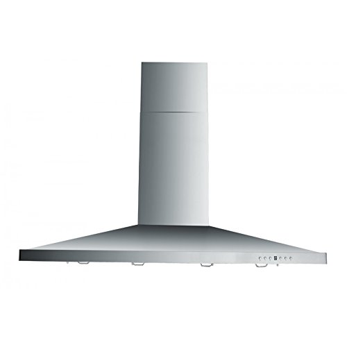 ZLINE 48 in. 760 CFM Island Mount Range Hood in Stainless Steelwith 2 Lights