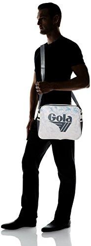 BORSA TRACOLLA GOLA REDFORD WATERCOLOUR DARK GREY/OFF WHITE COD. 393 COD. 398