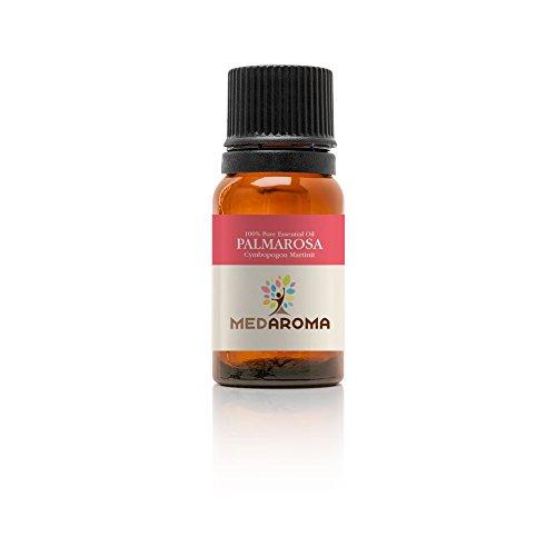 MEDAROMA 100% Pure Therapeutic-grade Palmarosa Essential Oil 10ml...