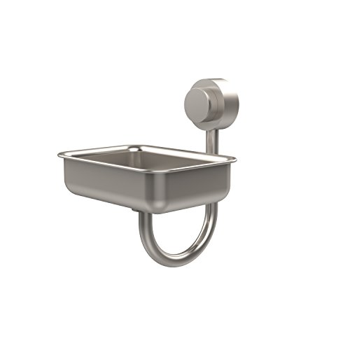 Allied Brass 432-SN Venus Collection Wall Mounted Soap Dish Satin Nickel