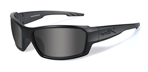WILEY X 1925584 Wily Wax Rebel black Ops SMK/Black Hunting Safety - Heads Wiley X Sunglasses Large