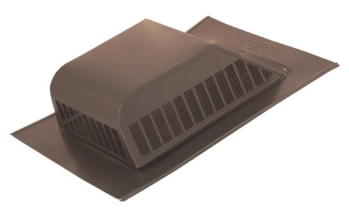 Ventamatic SBV 603 GVWG Galvanized Screened 51 Square Inch Static Roof Vent with Slant Back, 6-Pack, Weathered Grey (Vent Static)