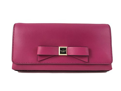 Kate Spade New York Montford Park Smooth Peira Clutch Purse in Sweetheart Pink by Kate Spade New York