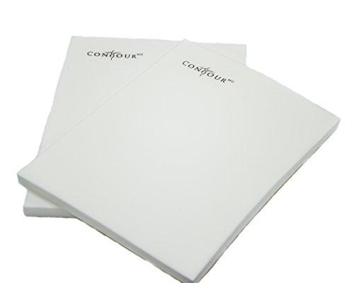 Post Surgery Foam Sheets, Surgical Compression Garments ContourMD, 8x 11 Set of 2 (Lipo-1)