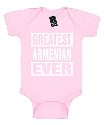 Signature Depot Infant Funny Baby Onesie Unisex T-Shirt Size 24 (Greatest Armenian Ever)