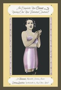 (Exquisite New Corset Fine art Giclee canvas print (20 x 30) )