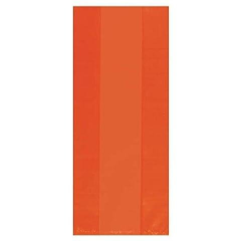Small Orange Cello Bags - Price Printed Gift Boxes