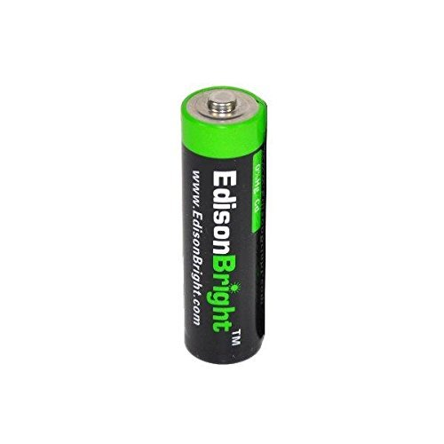 Fenix LD11 300 Lumen LED Tactical Flashlight with EdisonBright AA Alkaline battery