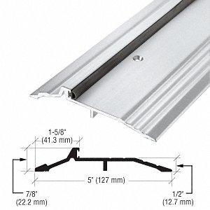 5'' x 1/2'' Aluminum Panic Type Threshold - 36-1/2'' Length