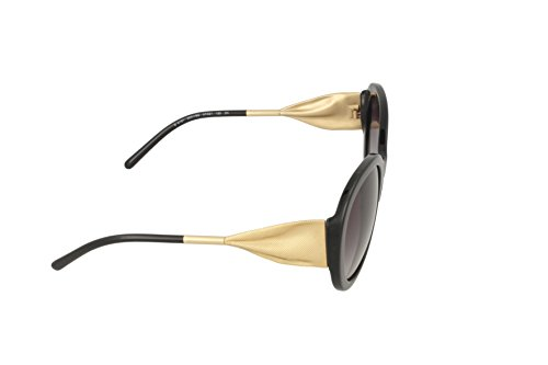 Negro Sol para Black Gafas de Gray Mujer Burberry qx4fF