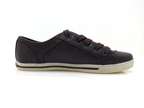 Dockers 327100-030636 - Zapatillas de material sintético infantil Lila, Morado