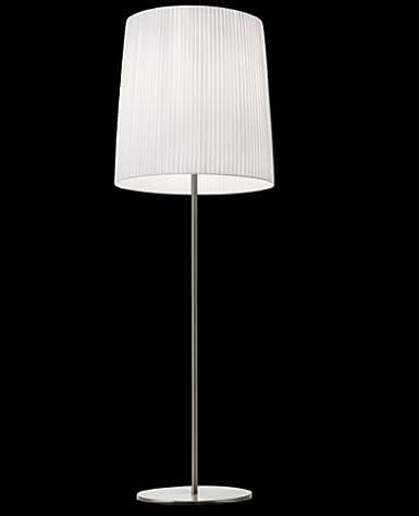 Amazon.com: Romeo floor lamp - small, gold, Cotton fabric ...