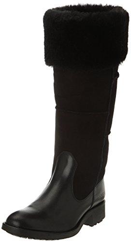 Aigle Chantewarm Sh2 - Botas de cuero mujer negro - negro