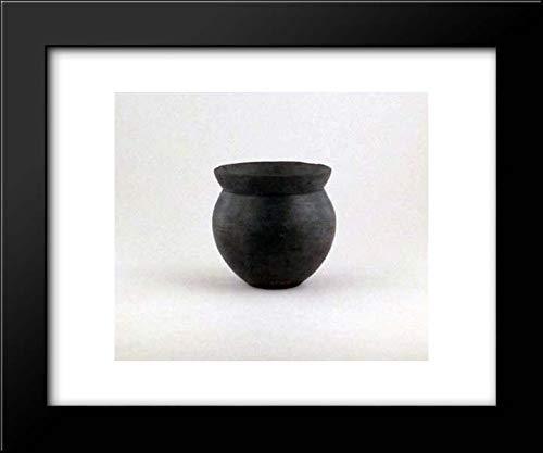 Etruscan Culture - 18x15 Framed Museum Art Print- Terracotta Bowl ()