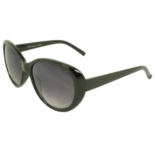 MLC EYEWEAR ® NG7076-BKPB Cat Eye Fashion Sunglasses Black Frame Purple Black - Michael Kor Glasses