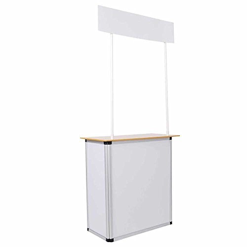 Knick Knack Supplies Aluminum Frame Booth Display by Knick Knack Supplies