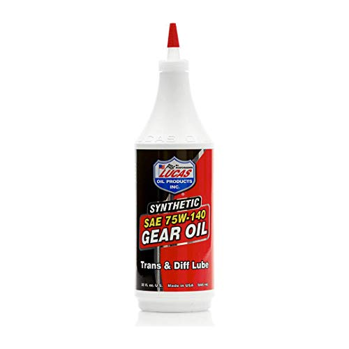 Lucas Oil 10121 Synthetic 75/140 Transmission Lubrication, C
