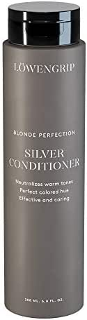 Löwengrip, Blonde Perfection Purple Conditioner - Blackberry & Bamboo Extract. Neutralizes Yellow on Blonde-Dyed Hair. Nourishment & UV protection. Sweden's Fastest Growing Beauty Brand - 200 ml