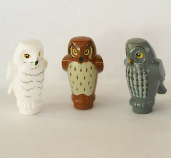 LEGO Three Owls (Harry Potter) or Zoo