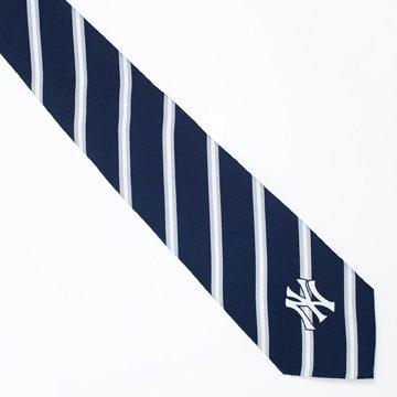 New York Yankees Stripe Neck Tie (New York Yankees Ties)