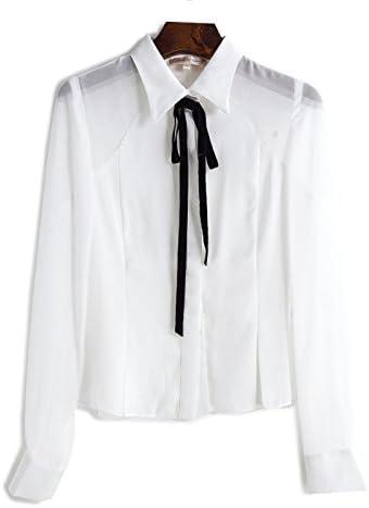 Mayihang Blusa Camisa La mujer camisetas manga larga profesional en primavera,Blanca,L: Amazon.es: Deportes y aire libre