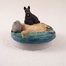Conversation Concepts Miniature Scottish Terrier Candle Topper Tiny One