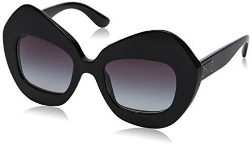 Dolce and Gabbana DG4290 501/8G Black DG4290 Square Sunglasses Lens Category - New Sunglasses Dolce Gabbana And