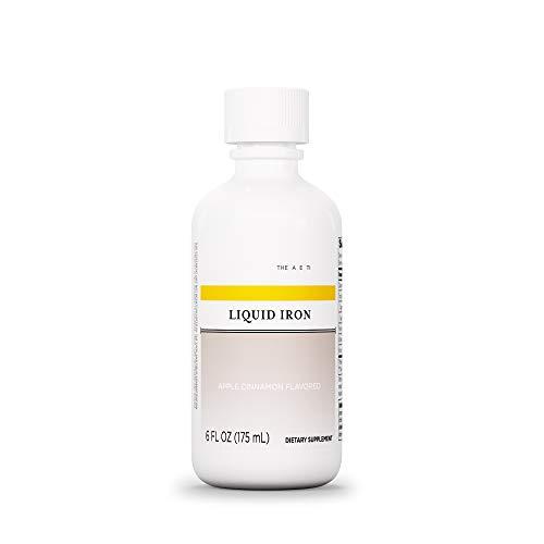 Integrative Therapeutics - Liquid Iron (Non Heme) - with Vitamin B12 and Folic Acid - Apple Cinnamon Flavor - 6 fl oz