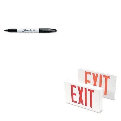 - KITSAN30001TCO07230 - Value Kit - Tatco LED Exit Sign (TCO07230) and Sharpie Permanent Marker (SAN30001)