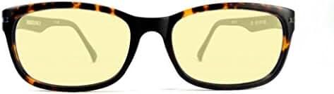 Retro Eyeworks Duraspex 106 Computer Glasses 54-18 MM 2.25x Tortoise W/ Grey Temple