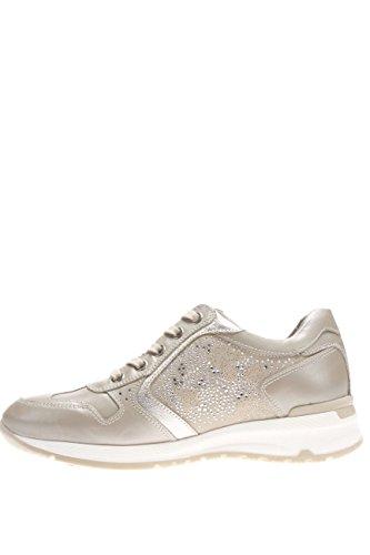 Nero Giardini Mujer Sneaker P615092D-505 de Piel Sintética Con Tapa Savana