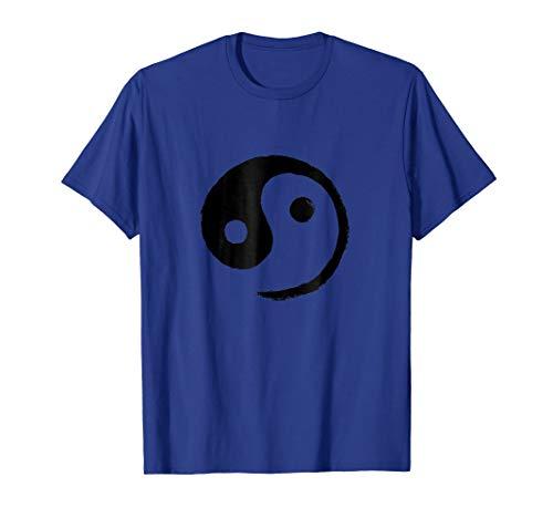 (Yin-Yang Taiji T-Shirt (Black on Light))