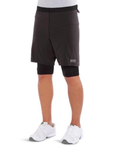 Gore Running Wear Men's X-Running 2.0 Short, Black, Small