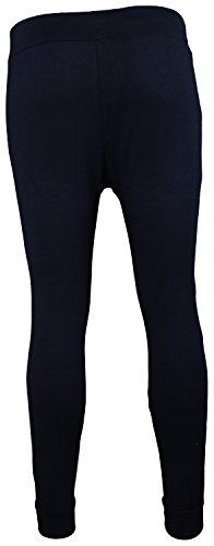 Baggy–Mallas Harén Pantalones Pantalones Deporte Pantalones Jersey Sweatpant   tamaño m–XXXL Navy Reißverschluss