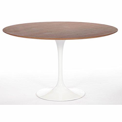 "Saarinen 48"" Round Dining Table, American Walnut"