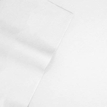 Blue 479045 Twin Size Veratex Supreme Sateen Collection 500 Thread Count 100/% Egyptian Cotton Sateen Solid Designed 3 Piece Bedroom Sheet Set