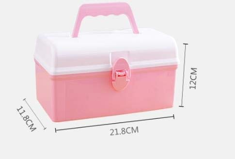 312 Stationery Cosmetics Storage Box Plastic Jewelry Storage Box Toy Desktop Finishing Box (Color : B)