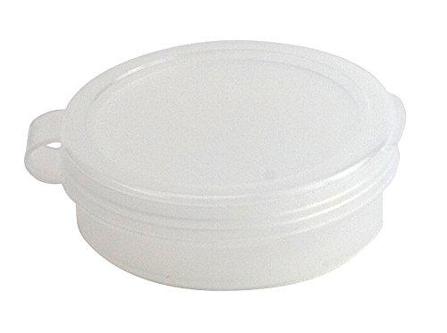 Storage Specimen - Dynalon 226254-0025 Polyethylene Resin Hinged Lid Lab Storage and Specimen Container, 0.25oz Capacity (Case of 100)