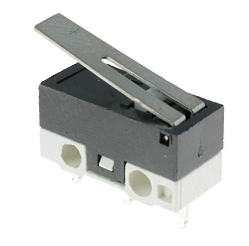 WuLian 10 x Ultra Mini Lever Actuator Microswitch SPDT Sub Miniature Micro Switch