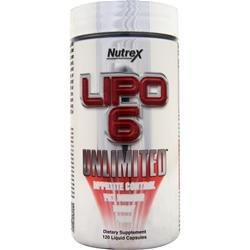 NUTREX RESEARCH Lipo-6 Unlimited 120 lcaps